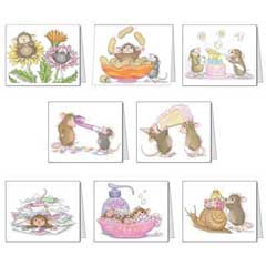House-Mouse Designs� Assorted Birthday Cards