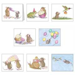 8 Assorted birthday & Envs. - House-Mouse Designs® Birthday Cards