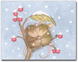 8 Christmas Cards & 8 Envelopes. - House-Mouse Designs® Christmas Cards