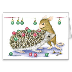 8 Blank Christmas Cards/8 Envs