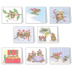 House-Mouse Designsr� Assorted Christmas Cards