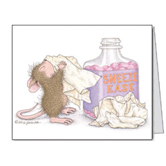 8 Get Well Cards and 8 Envs. - House-Mouse Designs® Get Well Cards
