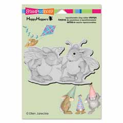 CLING BUMBLE BUNNIES - Our Newest House-Mouse Designs® Cling rubber stamps