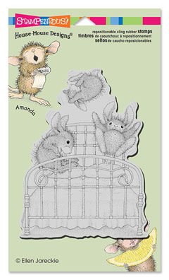 CLING BOUNCING BUNNIES - Our Newest House-Mouse Designs® Cling rubber stamps