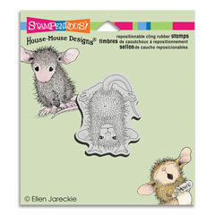 CLING HANDSTAND - Our Newest House-Mouse Designs® Cling rubber stamps
