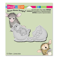 CLING JELLY BEAN BREAK - Our Newest House-Mouse Designs® Cling rubber stamps