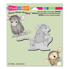 CLING TINY RUNNER - Our Newest House-Mouse Designs® Cling rubber stamps