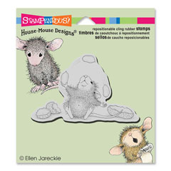CLING PEANUT JUGGLE - Our Newest House-Mouse Designs® Cling rubber stamps