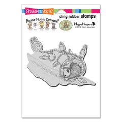 Cling Tangle Tumble Stamp - Our Newest House-Mouse Designs® Cling rubber stamps