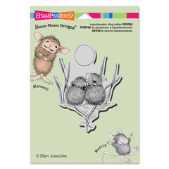 CLING TAILS ENTWINED - Our Newest House-Mouse Designs® Cling rubber stamps