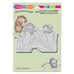 CLING BE MINE - Our Newest House-Mouse Designs® Cling rubber stamps