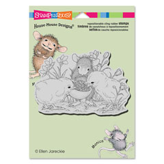 CLING SHARING SEED - Our Newest House-Mouse Designs® Cling rubber stamps