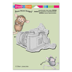 Cling Say Cheese - Our Newest House-Mouse Designs® Cling rubber stamps