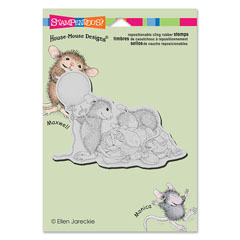 CLING BALLOON SURPRISE - Our Newest House-Mouse Designs® Cling rubber stamps
