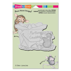 CLING GOOD FORTUNE - Our Newest House-Mouse Designs® Cling rubber stamps