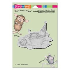 CLING CUPCAKE COMA - Our Newest House-Mouse Designs® Cling rubber stamps