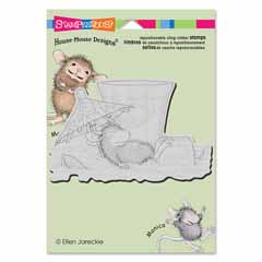 CLING UMBRELLA SHADE - Our Newest House-Mouse Designs® Cling rubber stamps