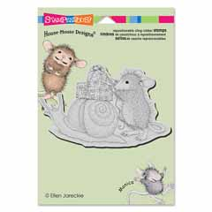 CLING SNAIL MAIL - Our Newest House-Mouse Designs® Cling rubber stamps