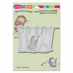 CLING PAINTING STRIPES - Our Newest House-Mouse Designs® Cling rubber stamps