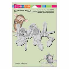CLING HANGING LIGHTS - Our Newest House-Mouse Designs® Cling rubber stamps