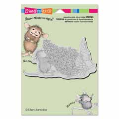 CLING LILAC AROMA - Our Newest House-Mouse Designs® Cling rubber stamps