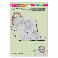 CLING TREAT JAR - Our Newest House-Mouse Designs® Cling rubber stamps