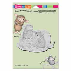 CLING NURSE MOUSE - Our Newest House-Mouse Designs® Cling rubber stamps
