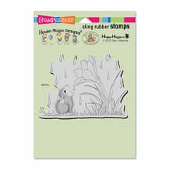 CLING CROCUS DROPLET - Our Newest House-Mouse Designs® Cling rubber stamps