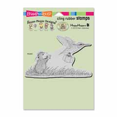 CLING CARRIER HUMMER - Our Newest House-Mouse Designs® Cling rubber stamps