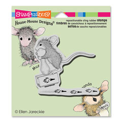 CLING MAKING PRINTS - Our Newest House-Mouse Designs® Cling rubber stamps