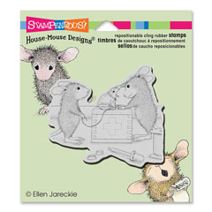 Cling Vet Visit - Our Newest House-Mouse Designs® Cling rubber stamps