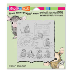 CLING GROWTH CHECK - Our Newest House-Mouse Designs® Cling rubber stamps