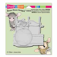 CLING TENNIS ANYONE - Our Newest House-Mouse Designs® Cling rubber stamps