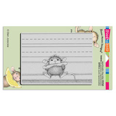 CLING CHALK IT UP - Our Newest House-Mouse Designs® Cling rubber stamps