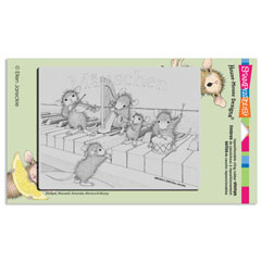 Cling Musical Mice