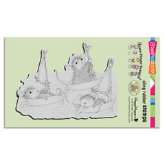 Cling Teacup Sailing - Our Newest House-Mouse Designs® Cling rubber stamps
