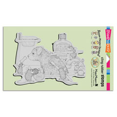 Cling Dog Wash - Our Newest House-Mouse Designs® Cling rubber stamps