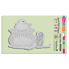 CLING JELLY BEAN BIRD - Our Newest House-Mouse Designs® Cling rubber stamps