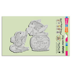 CLING PEPPER POWER - Our Newest House-Mouse Designs® Cling rubber stamps
