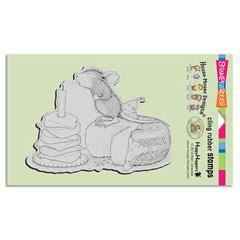 CLING GOUDA �WISH - Our Newest House-Mouse Designs® Cling rubber stamps