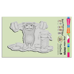 CLING SWEET WORKOUT - Our Newest House-Mouse Designs® Cling rubber stamps