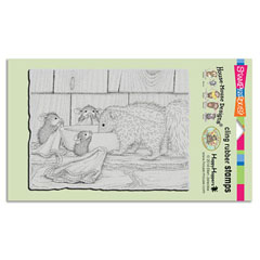CLING ODORABLE FRIEND - Our Newest House-Mouse Designs® Cling rubber stamps