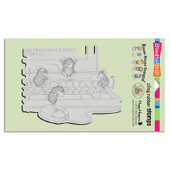 CLING COMPUTER MICE - Our Newest House-Mouse Designs® Cling rubber stamps