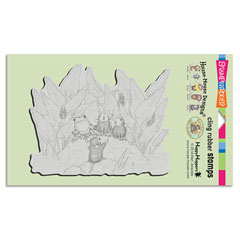 CLING POND SONG - Our Newest House-Mouse Designs® Cling rubber stamps