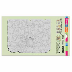CLING SPIGOT SOAK - Our Newest House-Mouse Designs® Cling rubber stamps