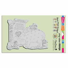CLING BANK DEPOSIT - Our Newest House-Mouse Designs® Cling rubber stamps