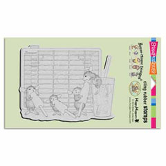 CLING FROZEN TREAT - Our Newest House-Mouse Designs® Cling rubber stamps