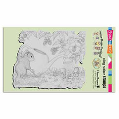 CLING SQUIRREL SHOWERS - Our Newest House-Mouse Designs® Cling rubber stamps