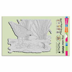 CLING SANDPIPER HELLO - Our Newest House-Mouse Designs® Cling rubber stamps