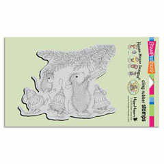 CLING BELL DECORATIONS - Our Newest House-Mouse Designs® Cling rubber stamps